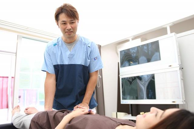 妊活骨盤矯正の検査