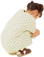 腰痛の子供