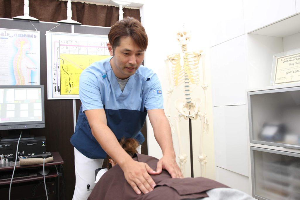 脊柱管狭窄の検査