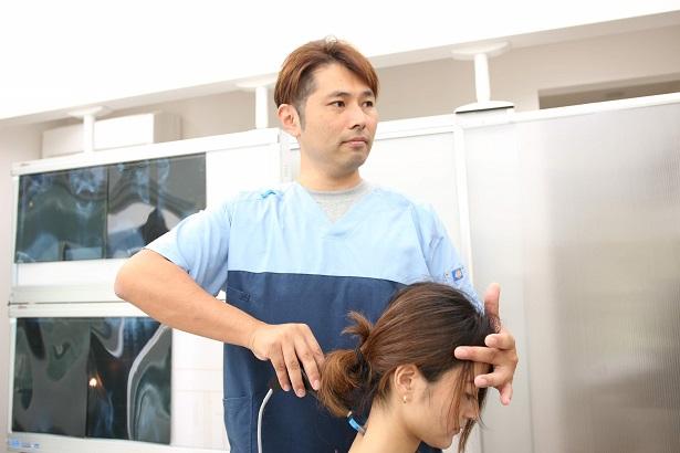 ムチウチ・頚椎捻挫の施術