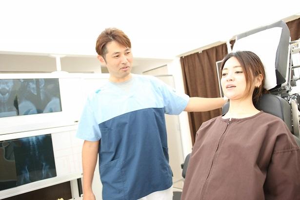 頚椎捻挫・ムチウチの検査