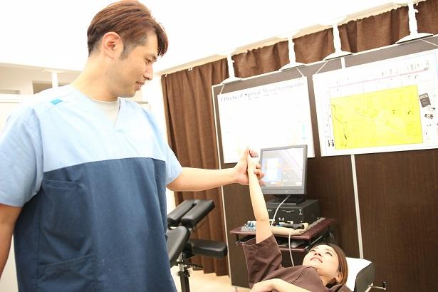 頚椎捻挫、腰椎捻挫の検査