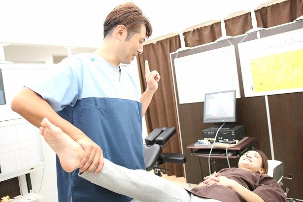 腰椎捻挫の検査・頚椎捻挫の検査