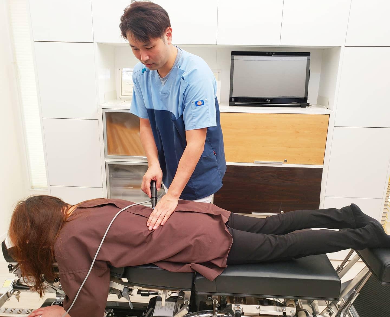 むちうち・腰椎捻挫の施術