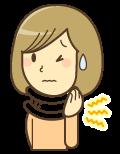 頚椎捻挫・ムチウチで困る女性