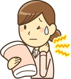 三島・沼津の頚椎ヘルニア・変形性頚椎症でお困りの女性
